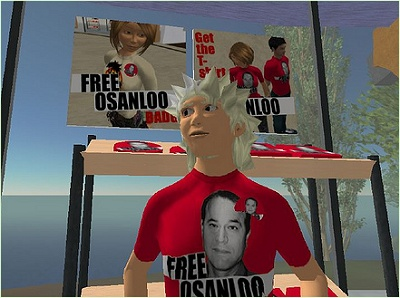 Free Osanloo supporter
